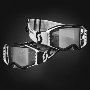 Scott Prospect Sand Black White Light Sensitive Chrome Goggles Image 2
