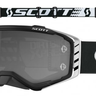Scott Prospect Sand Black White Light Sensitive Chrome Goggles Image 3
