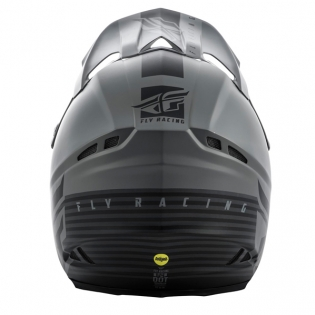 Fly Racing F2 Carbon MIPS Shield Matte Black Grey Helmet Image 3