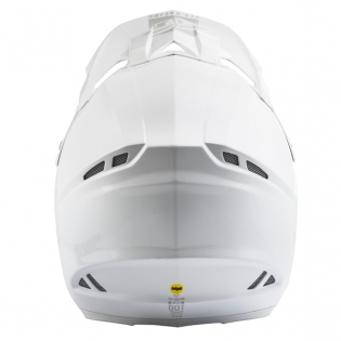 Fly Racing F2 Carbon MIPS Shield Solid White Helmet Image 3