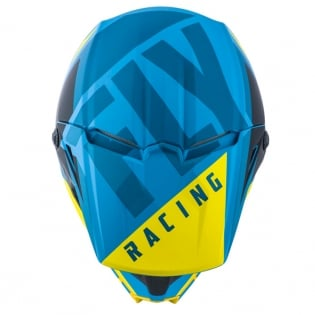 Fly Racing Elite Vigilant Blue Black Helmet Image 2