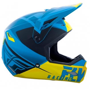 Fly Racing Elite Vigilant Blue Black Helmet Image 3