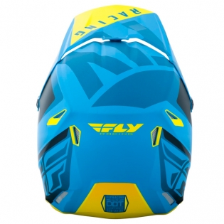 Fly Racing Elite Vigilant Blue Black Helmet Image 4