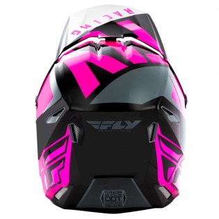 Fly Racing Elite Vigilant Pink Black Helmet Image 4