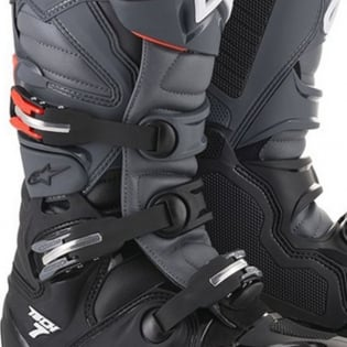 Alpinestars Tech 7 Black Grey Red Fluo Enduro Boots Image 3