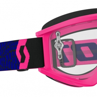 Scott Recoil Xi Blue Fluo Pink Goggles Image 2