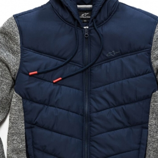 Alpinestars Boost Quilted Navy Jacket Image 3