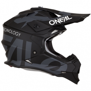 ONeal 2 Series RL Slick Black Grey Helmet Image 4