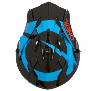 ONeal 2 Series RL Slick Black Blue Helmet Image 3