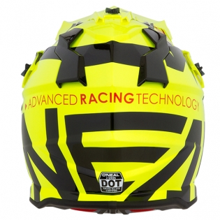 ONeal 2 Series Kids Slick Neon Yellow Black Helmet Image 2