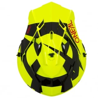 ONeal 2 Series Kids Slick Neon Yellow Black Helmet Image 3