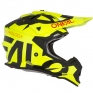 ONeal 2 Series Kids Slick Neon Yellow Black Helmet