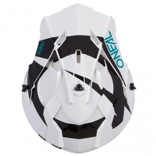 ONeal 2 Series Kids Slick White Black Helmet Image 3