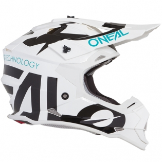 ONeal 2 Series Kids Slick White Black Helmet Image 4
