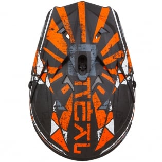 ONeal 3 Series Zen Orange Motocross Helmet Image 3