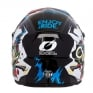 ONeal 3 Series Villain White Motocross Helmet