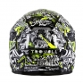ONeal 3 Series Attack Black Hi Viz Motocross Helmet