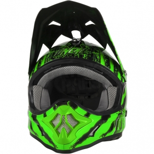 ONeal 3 Series Kids Mercury Black Green Helmet Image 4