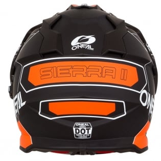 ONeal Sierra 2 Comb Orange Adventure Helmet Image 2