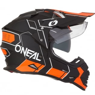 ONeal Sierra 2 Comb Orange Adventure Helmet Image 4