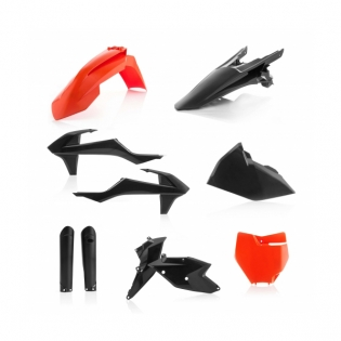 Acerbis Ltd Edition TLD Plastic Kit - KTM SXF - Back In Black Image 3