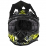 ONeal 7 Series Evo Menace Grey Hi Viz Motocross Helmet