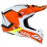 ONeal 8 Series Blizzard Orange Motocross Helmet
