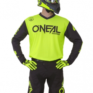 ONeal Threat Rider Neon Yellow Jersey Image 2