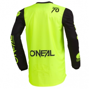 ONeal Threat Rider Neon Yellow Jersey Image 3