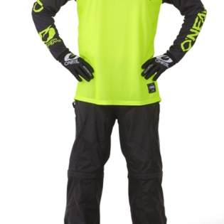 ONeal Threat Rider Neon Yellow Jersey Image 4