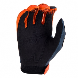 Answer AR-1 Flo Orange Black Gloves Image 3