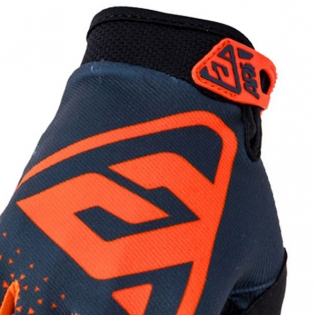 Answer AR-1 Kids Flo Orange Charcoal Gloves Image 2