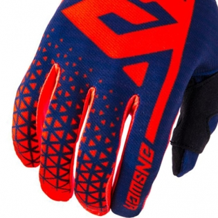 Answer AR-1 Kids Bright Red Midnight Gloves Image 4