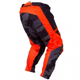 Answer Elite Discord Black Orange Pants Image 3