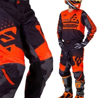 Answer Elite Discord Black Orange Pants Image 4
