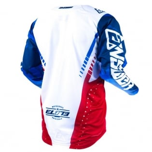 Answer Elite Discord Red White Jersey Image 3
