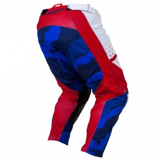 Answer Elite Discord Red White Pants Image 3