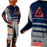 Answer Elite Force Charcoal Midnight Orange Jersey
