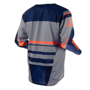 Answer Elite Force Charcoal Midnight Orange Jersey Image 3