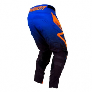 Answer Trinity Black Cobalt Flo Orange Pants Image 3