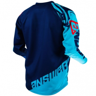 Answer Syncron Flow Astana Indigo Red Jersey Image 3