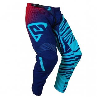 Answer Syncron Air Kids Flow Astana Indigo Bright Red Pants Image 3
