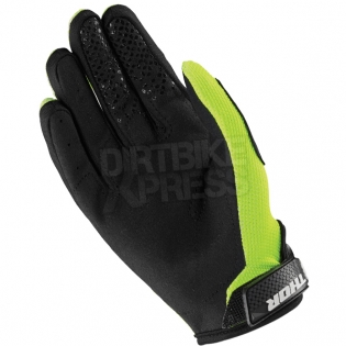 Thor Kids Sector Zones Lime Gloves  Image 3