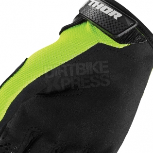 Thor Kids Sector Zones Lime Gloves  Image 4