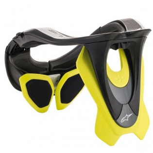 Alpinestars Tech 2 Bionic Black Fluo Yellow Neck Support Image 4