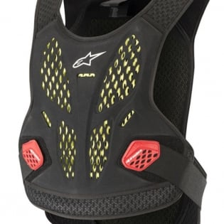 Alpinestars Sequence Anthracite Red Chest Protector Image 2