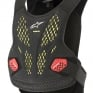 Alpinestars Sequence Anthracite Red Chest Protector