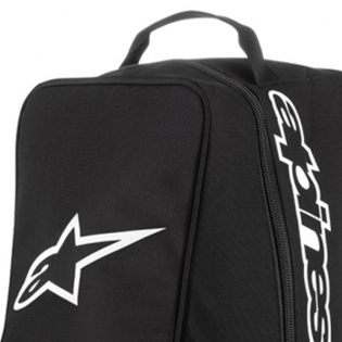 Alpinestars Motocross Black White Boot Bag Image 2