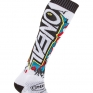 ONeal MX Villain White Boot Socks