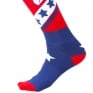 ONeal MX Stars Red Blue Boot Socks